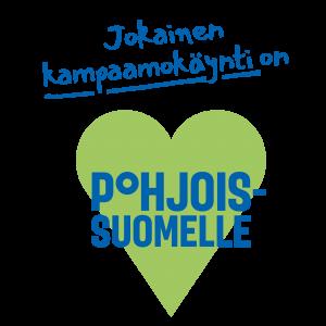 Jokainen kampaamokäynti on sydän Pohjois-Suomelle.